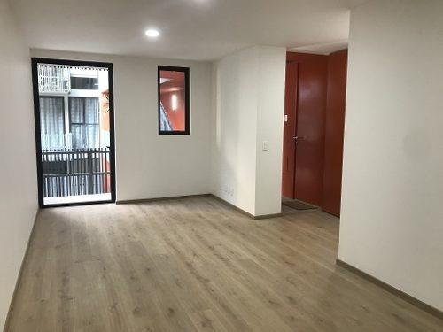 venta excelente departamento para estrenar en colonia moderna, 72 m2