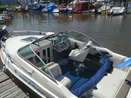 venta excepcional embarcacion thompson carrara /vp 4.3 gs