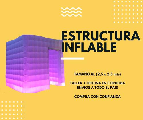 venta fotocabina completa + estructura inflable - promoción