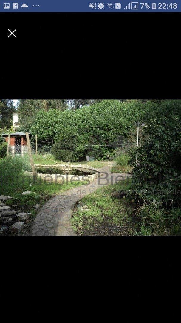 venta gran chalet 3 amb y depto a mts de la entrada al bosque peralta ramos, con parque - toma menor valor.