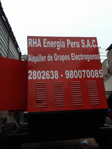 venta grupo electrógeno insonorizado perkins