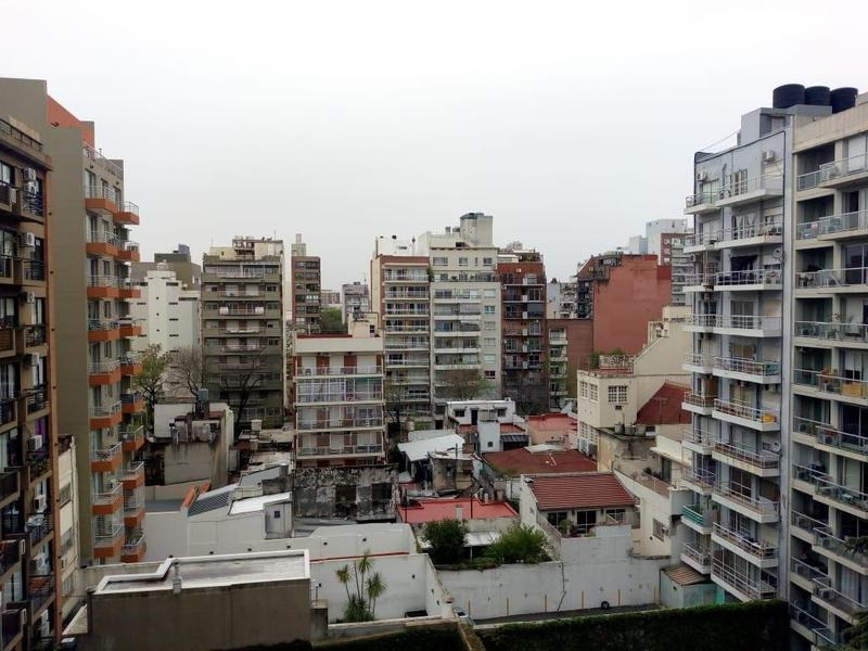 venta hermoso depto 4 amb con balcon y cochera fija