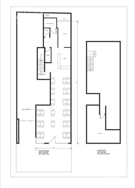 venta: hermoso local de 276 m2 · bajisimas expensas · excelente ubicación