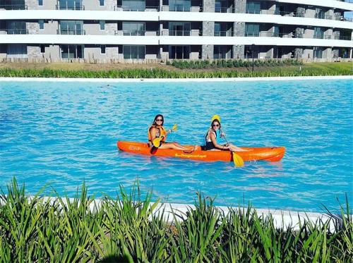 venta hermoso monoambiente pilar lagoon
