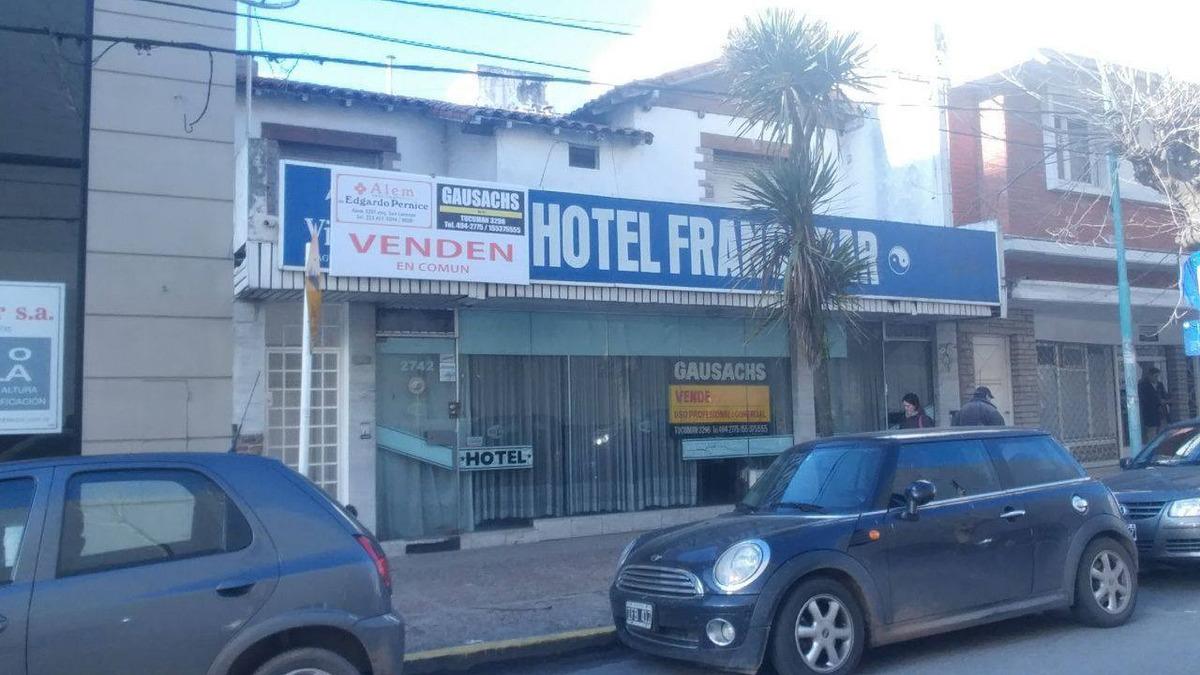 venta hotel apto varios rubros comerciales/profesionales.  frente al nuevo shopping comercial paseo aldrey! a 4 cuadras de guemes!!!