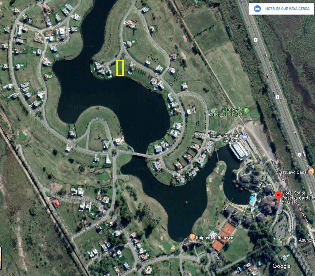 venta inmejorable  lote en culdesac  a la laguna  - la reserva  cardales-sofitel, campana