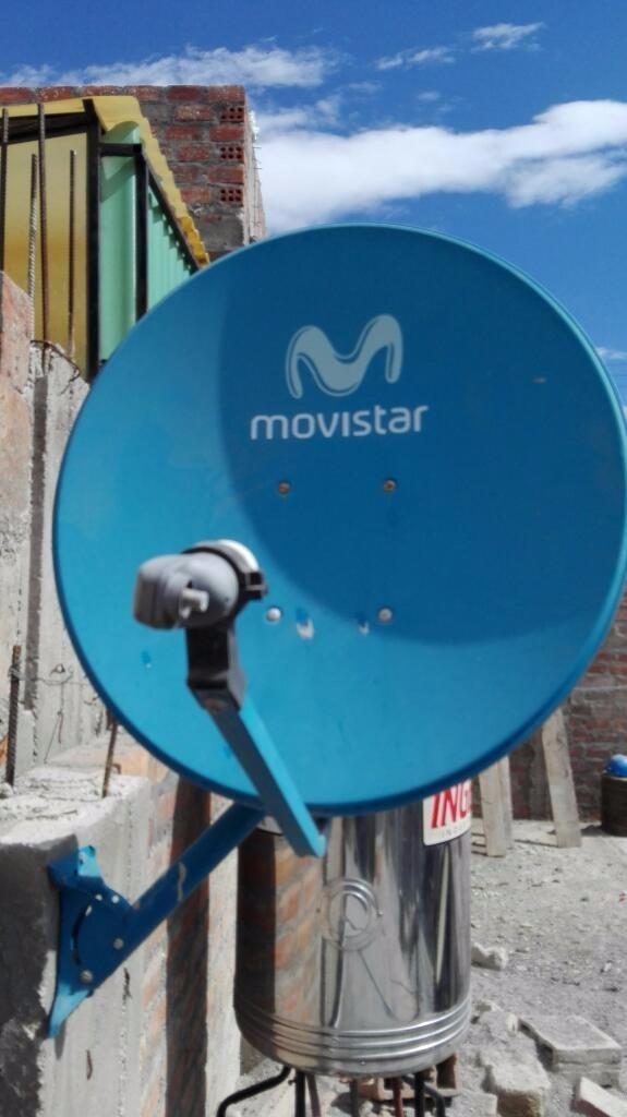 Venta instalaci n antena parabolica satelital movistar - Precio antena parabolica ...