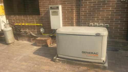 venta instalacion servicio  plantas electricas a gas generac