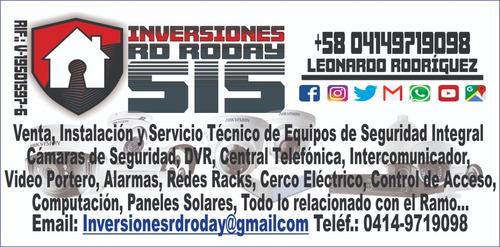 venta instalacion y servicio tecnico de camaras de seguridad
