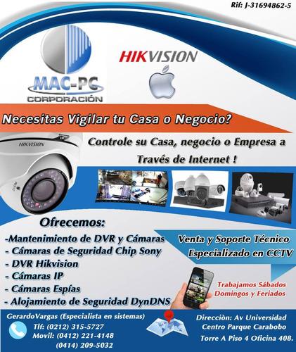 venta, instalacion y soporte de dvr camaras equipos cctv