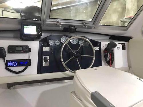 venta lancha baader track 780 cabinada ,uso de trabajo