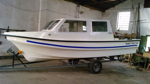 venta lancha cabinada tracker baader 700y780 ideales trabajo