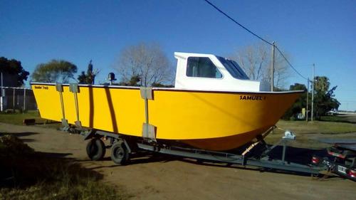 venta lancha de pesca ,baader track,embarcaciones de trabajo