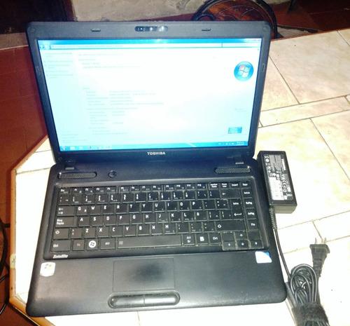 venta laptop toshiba c645 core i5, 500gb hhd, 4gb ram