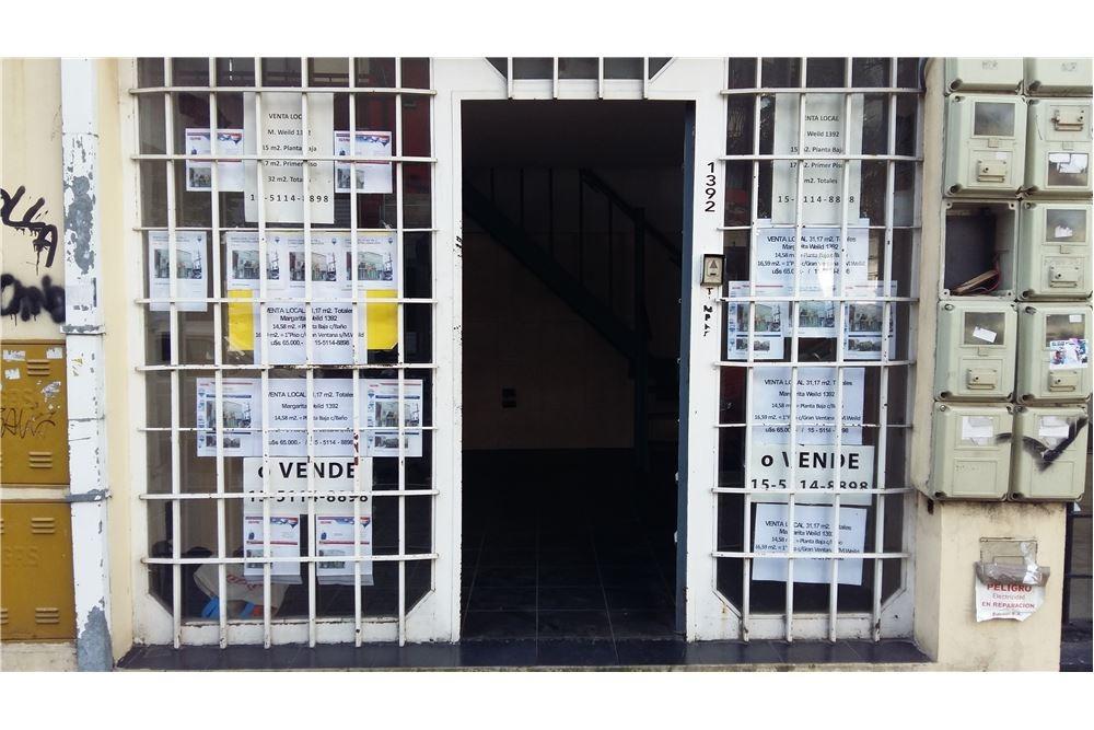 venta local 31 m2. pb. y 1°.piso centro lanús este