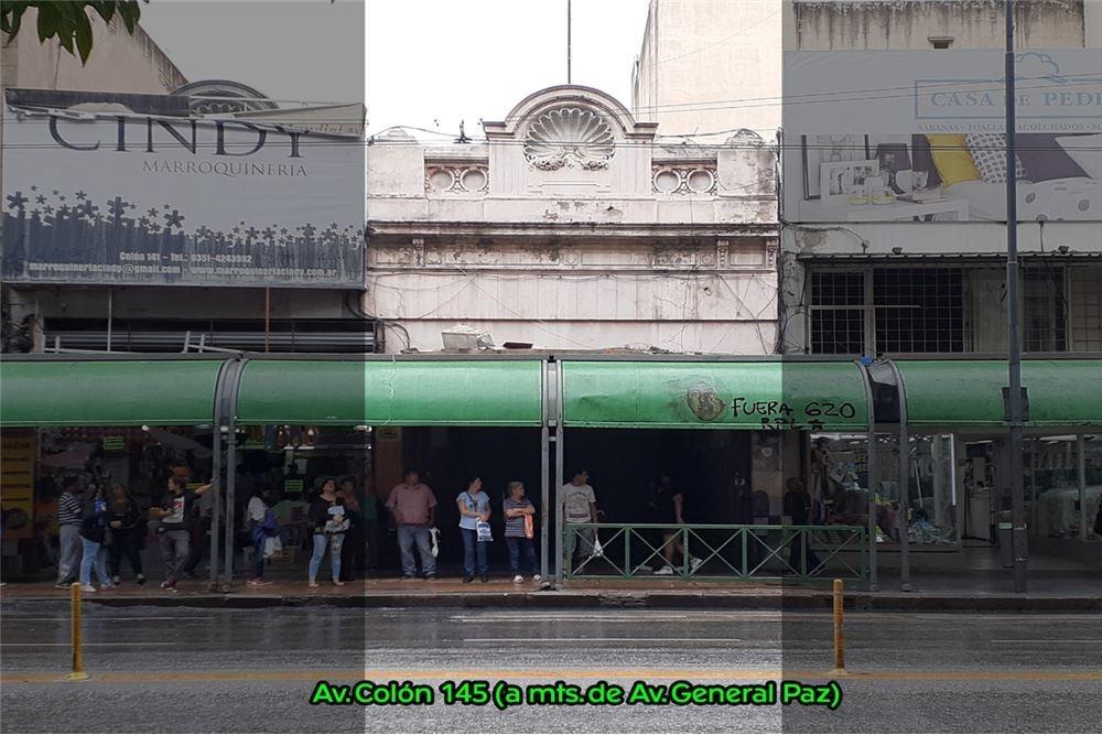 venta local colón y gral. paz pleno centro córdoba