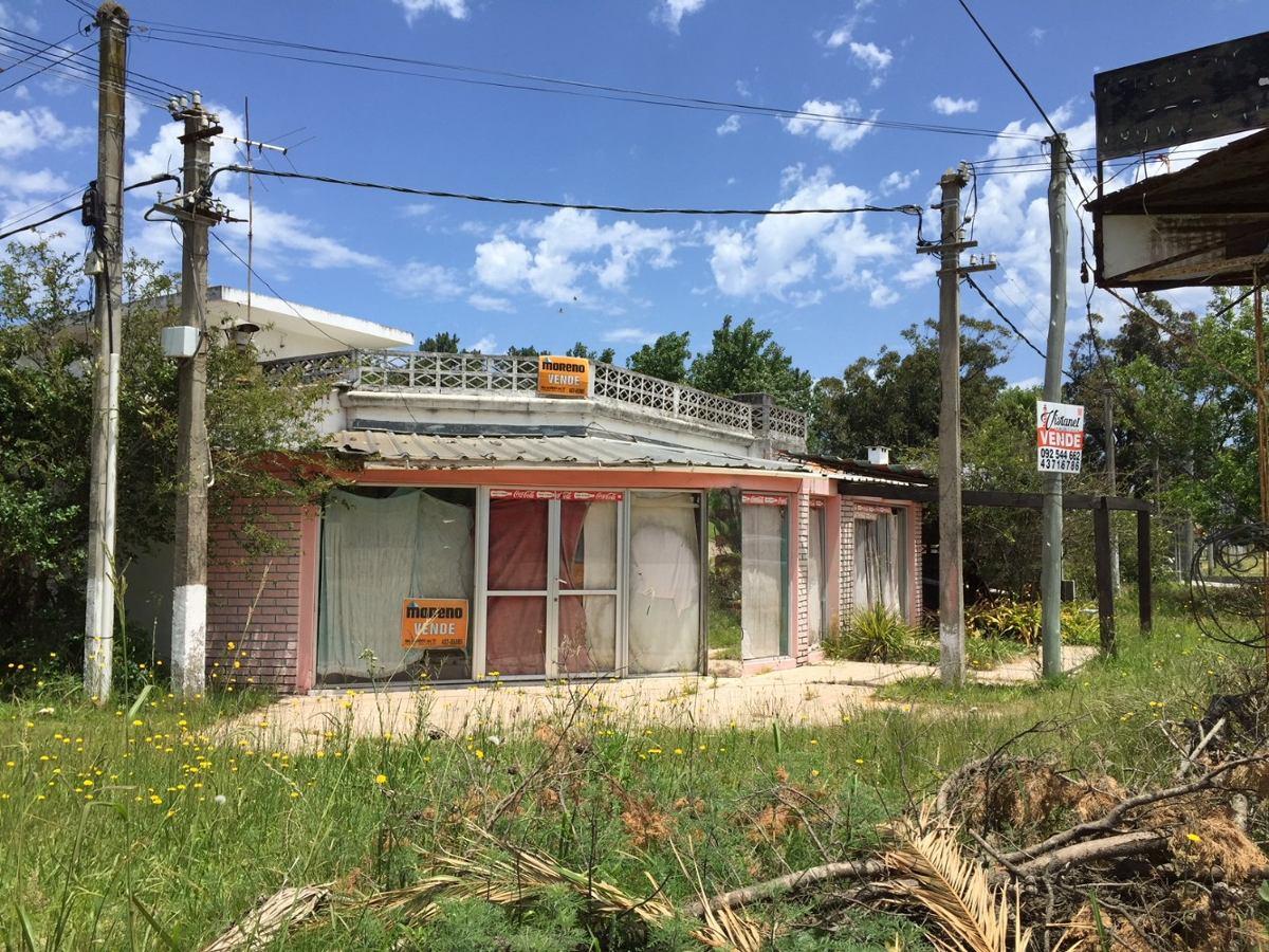 venta local comercial y vivienda en parque del plata sur