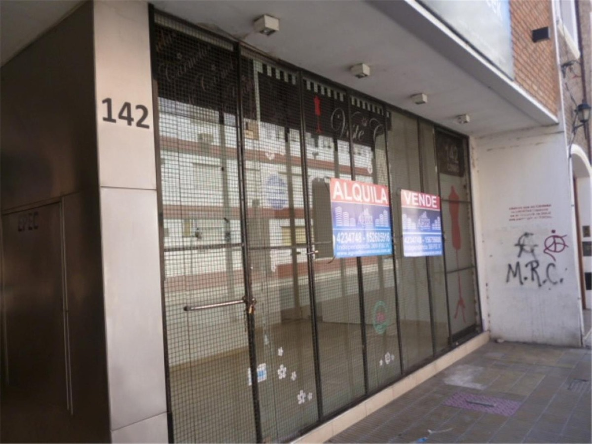 venta local / planta libre externo / centro / corro 142
