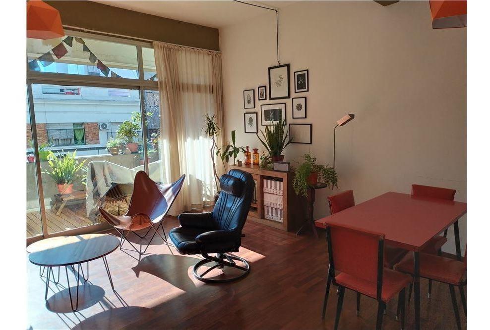 venta loft 2 ambientes c/cochera - villa crespo