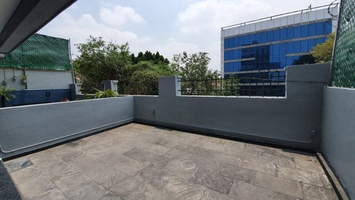 venta loft con roof garden privado col. roma norte