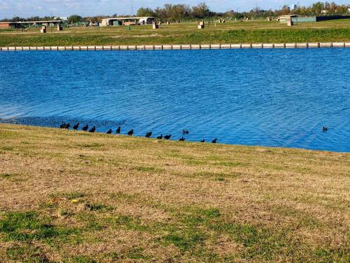 venta lote al agua en barrio golf nordelta