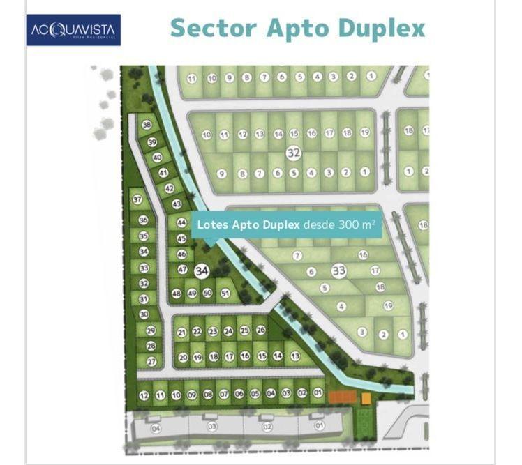 venta lote apto duplex 300m2 - financiación