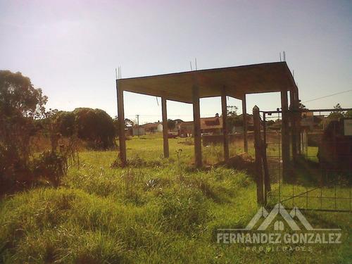 venta lote baldío11 x 33 mts. con losa.barrio san patricio