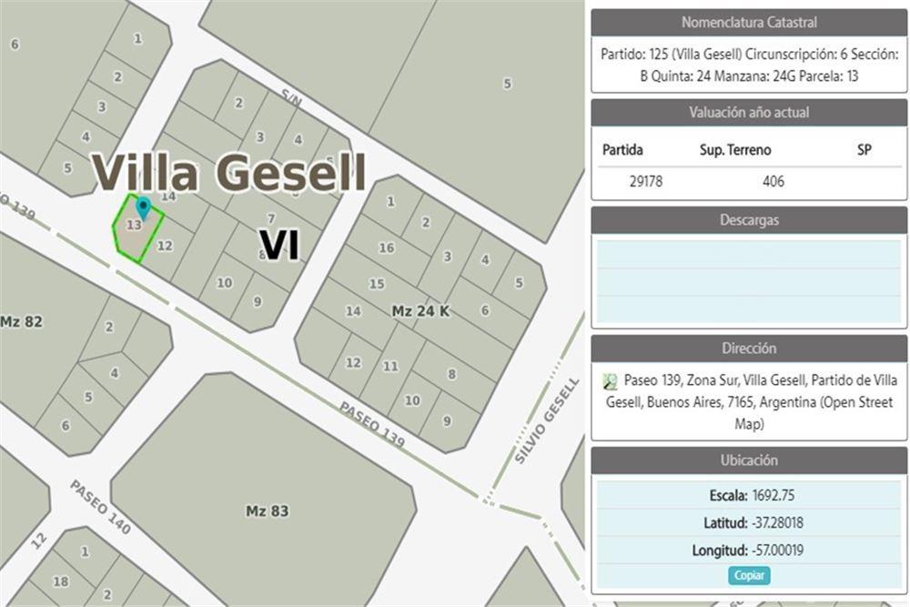 venta - lote comercial multifamiliar villa gesell