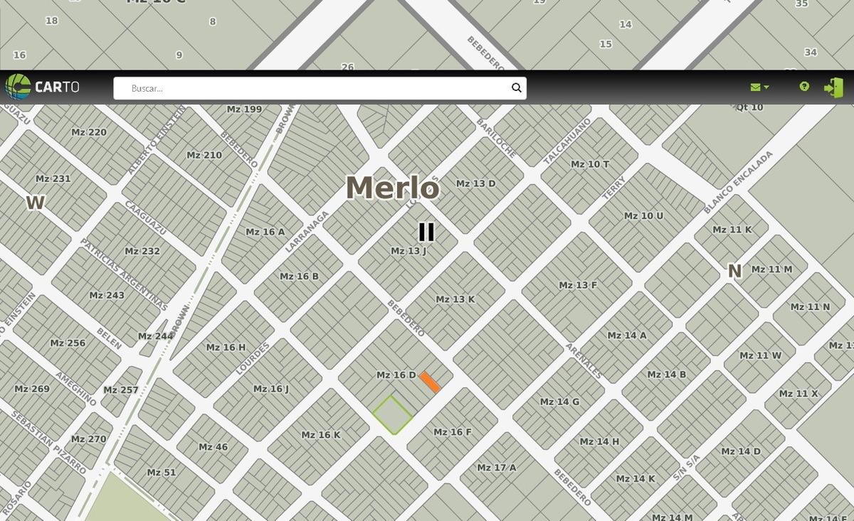 venta - lote - parque san martin - us$22.000