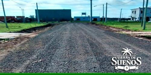 venta lote terreno tierra de sueños 3/ a metros del ingreso principal-sector a