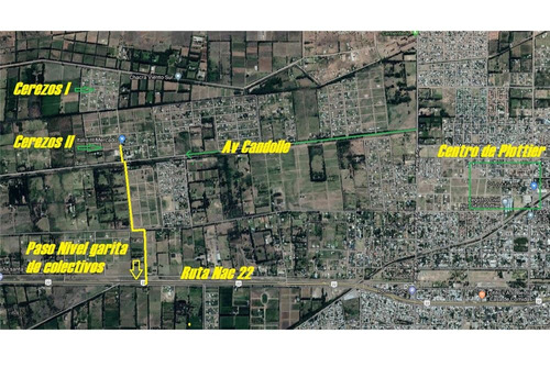 venta lote urbanizacion cerezos 2