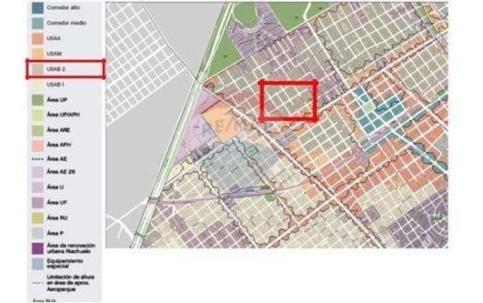 venta lote villa urquiza 7,80 x 35,43 metros