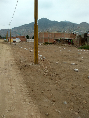 venta / lotes a credito,.km 23.5 de la av. tupac- carabayllo