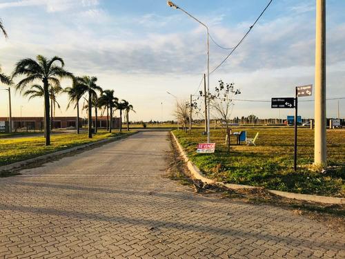 venta lotes con habilitacion comercial sobre boulevard -puerto general san martin-financiados