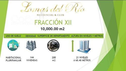venta - macrolote - lomas del río - 10000m2 - $150,000,000