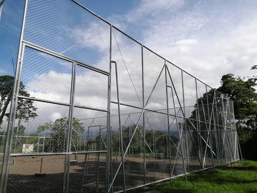 venta malla ciclón,paneles verdes,galvanizados,instalación.