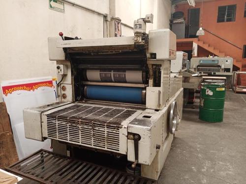 venta maquinaria para imprenta marca harris