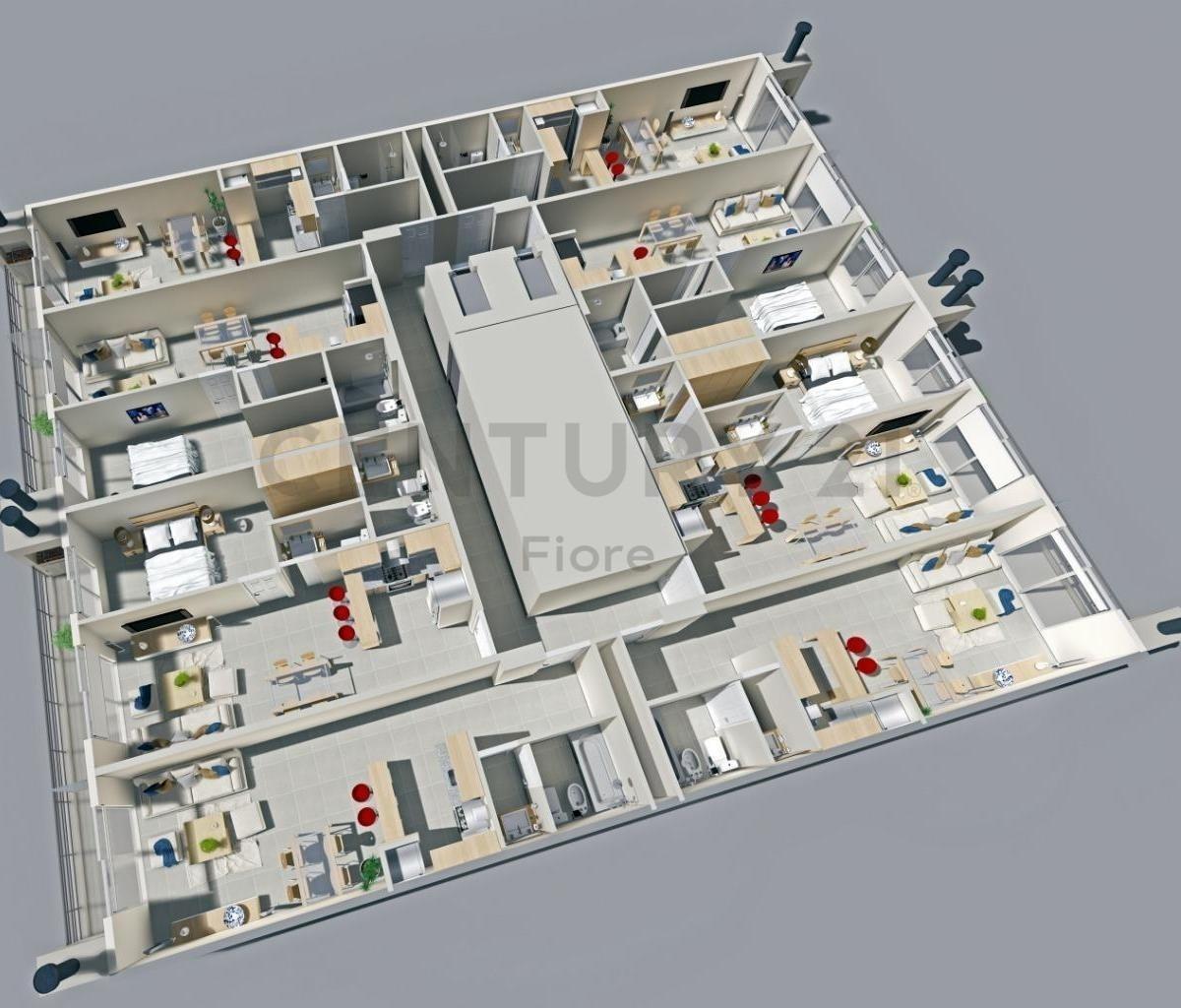 venta moderno monoambiente a estrenar en viila devoto  (edificio de categoria)