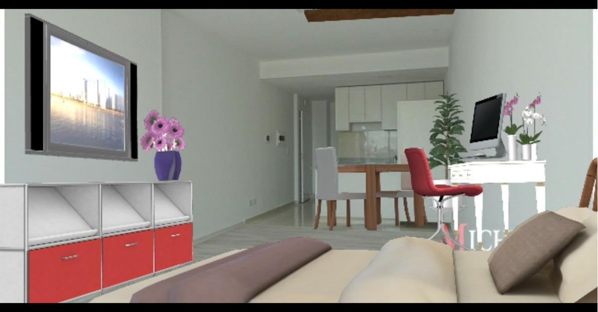 venta monoambiente 1 amb saavedra departamento balcon