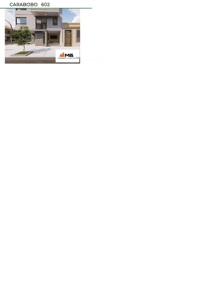 venta monoambiente. al frente en parq. chacabuco con terraza