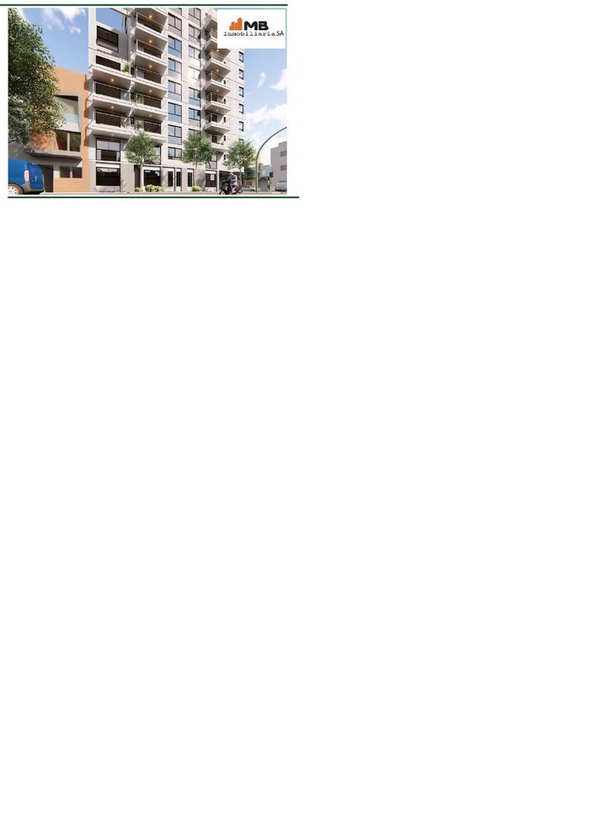 venta monoambiente con terraza al frente en parq. chacabuco