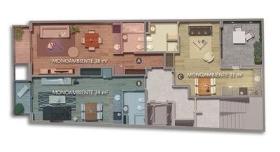 venta monoambiente de pozo zona facultades amenities cuotas