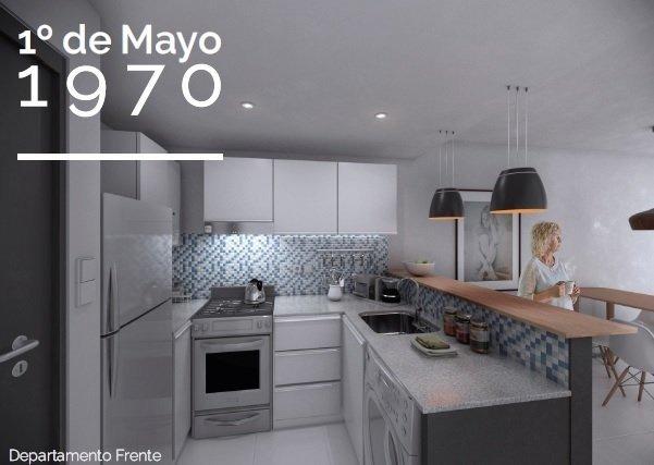 venta monoambientes y 1 dormitorio disponibles - zona universitaria - excelente zona para invertir - 1ro de mayo 1970