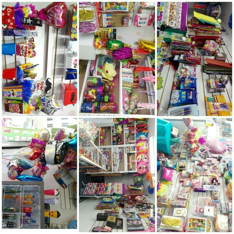 venta negocio ya establecido papelerí bazar piñateria globos