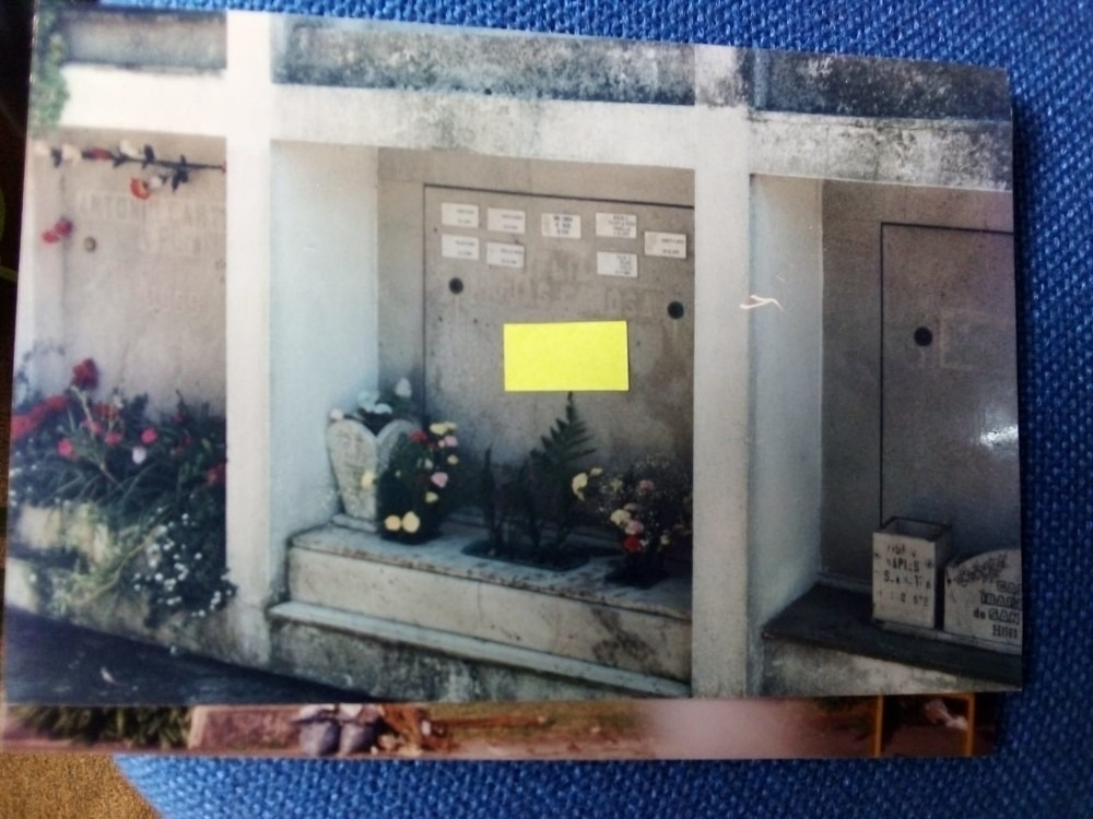 venta nicho - cementerio buceo
