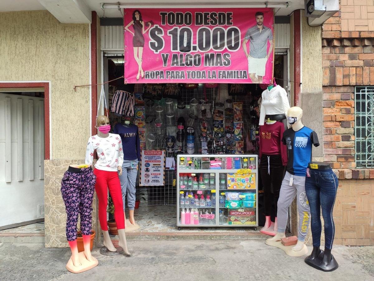 venta o permuta negocio tienda de ropa acreditado negociable