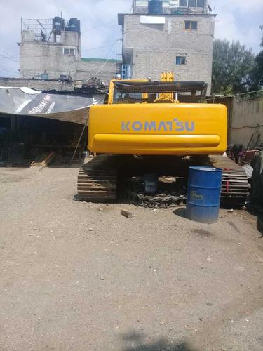 venta o renta excavadora komatsu pc220lc-6le