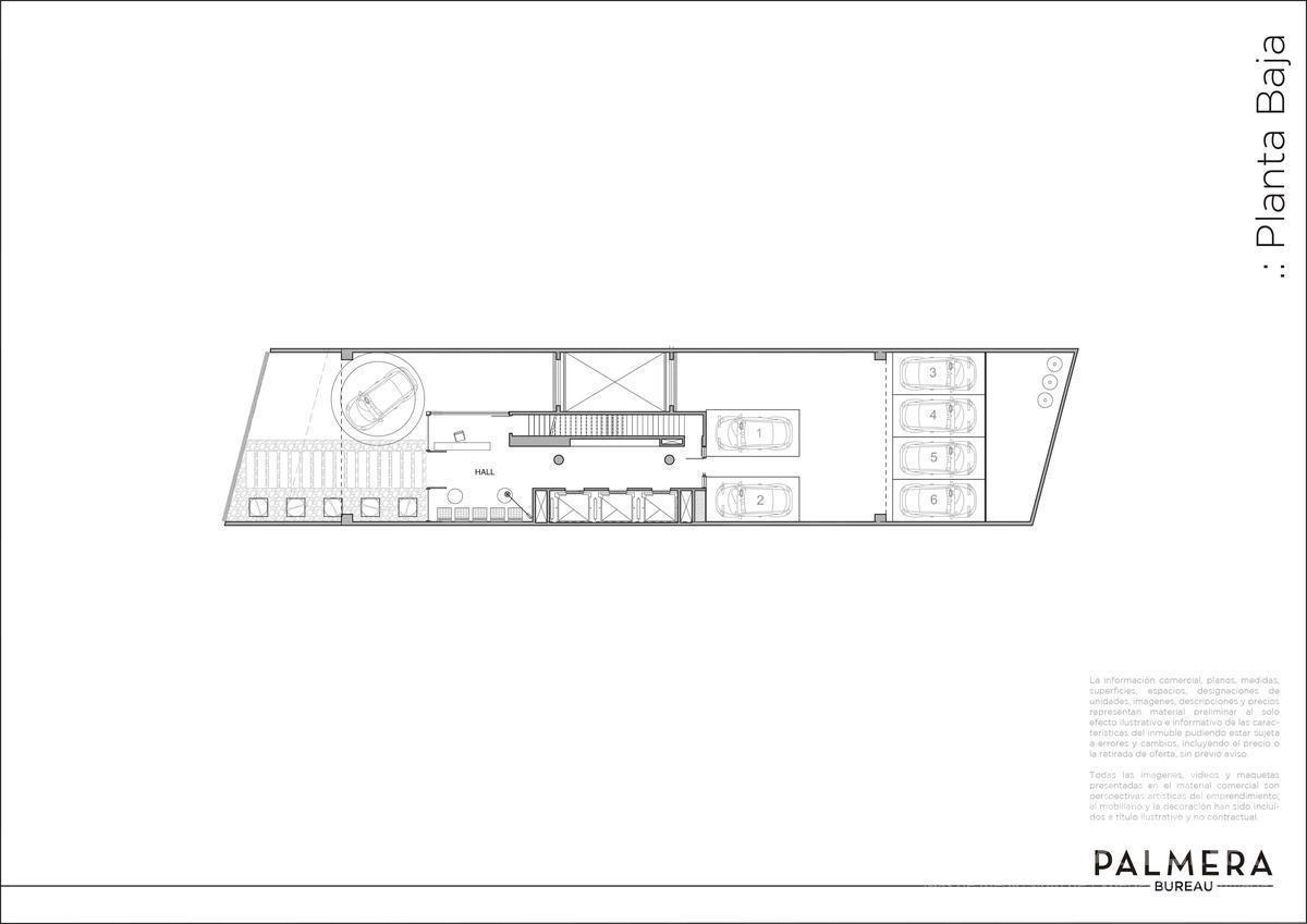 venta - oficina aaa - edificio corporativo - palmera bureau - olivos puerto