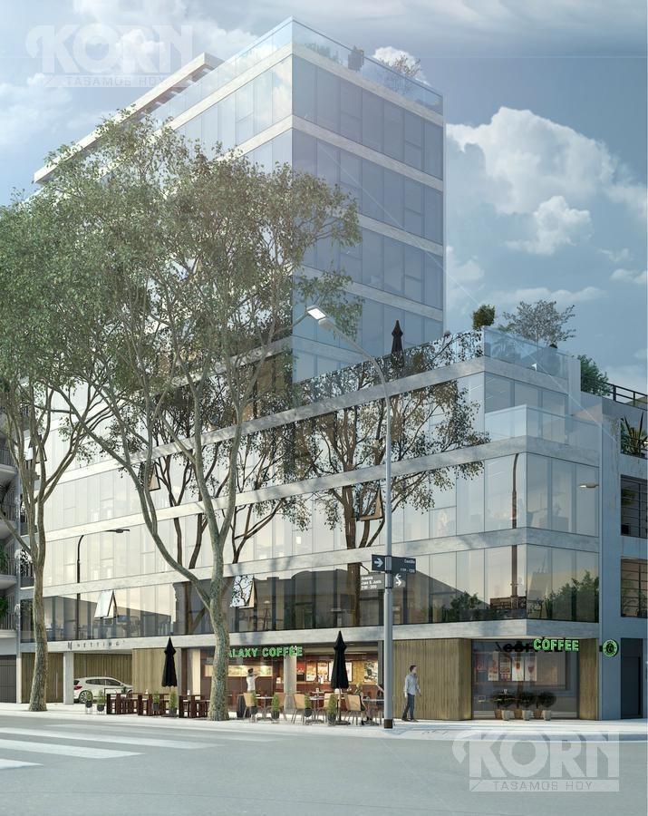 venta oficina de 2 plantas en construccion en villa crespo