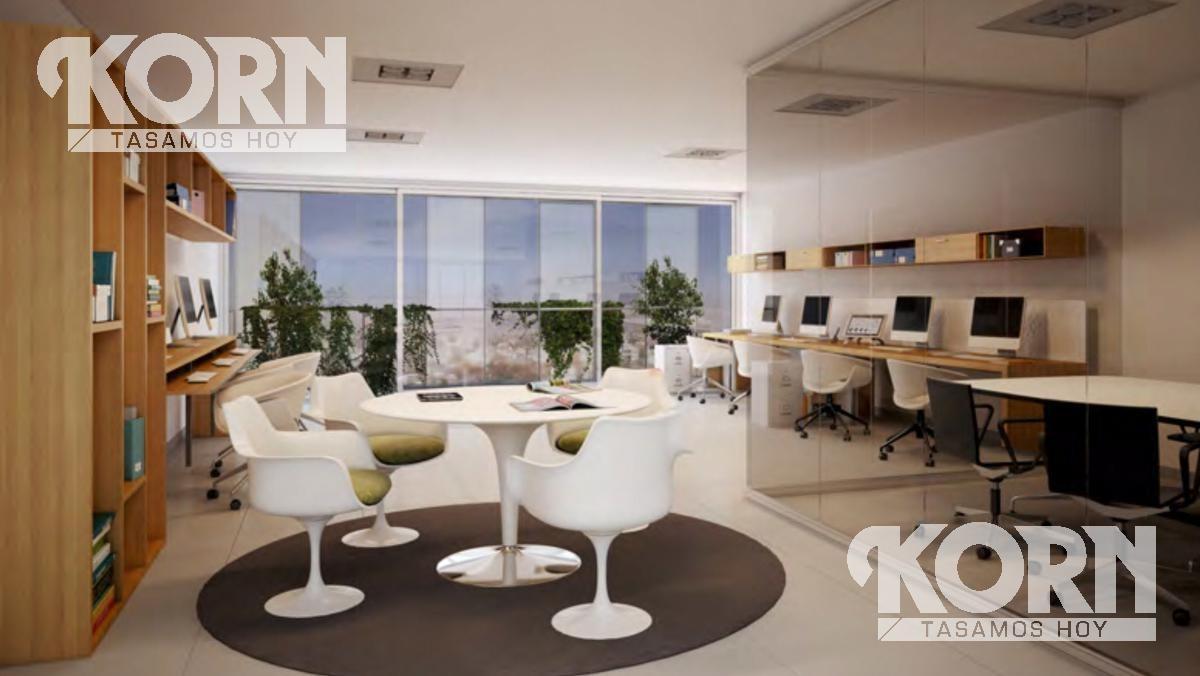 venta oficina de un ambiente divisible en belgrano - en pozo